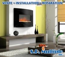 Foyer laval rive nord foyer au gaz et foyer lectrique for Decoration foyer electrique et television