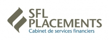 Logo de SFL placements cabinet de sevices financiers